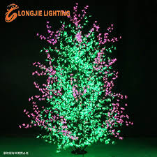 2014 new product led lilac tree light pink flowers with green