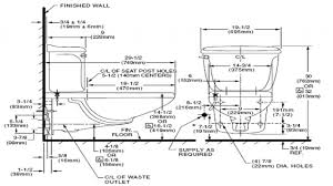 dimensions of standard toilet beautiful dimensions of standard