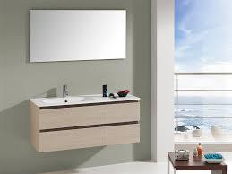 47 Bathroom Vanity Aquamoon Yasmin 47 1 2 Natural Othello Modern Bathroom Vanity Set