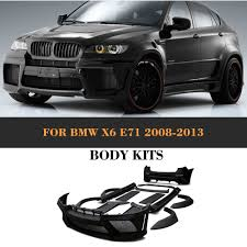 bmw x6 kit shop black primer frp kit kits with exhaust for bmw x6