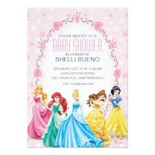 girl baby shower invitations princess it s a girl baby shower invitation card
