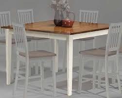shaker dining room chairs intercon counter height shaker leg dining table arlington inar5454gtab