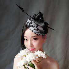 hair feathers fashion woman headdress hair folk style hair feathers lace vintage