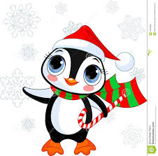 cute christmas penguin royalty free stock images image 16769869
