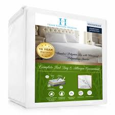 home design waterproof mattress pad home fashion designs rayon from bamboo hypoallergenic waterproof