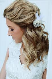 haircuts for shoulder length curly hair wedding hairstyle for curly medium length hair bridal hairstyles