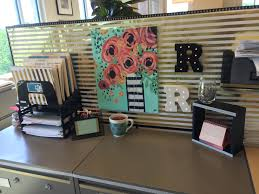 Cute Cubicle Decorating Ideas by Gold Office Decor Black And Gold Cubicle Office Decorating