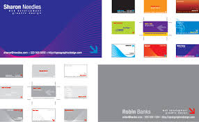 Designing Business Cards In Illustrator Free Business Card Templates Free Vector Illustrator Eps Layout