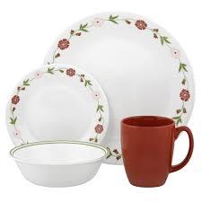 Corelle Dishes Walmart Livingware Spring Pink 18 Oz Dinnerware Bowl Corelle