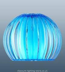 Retro Pendant Light Shades Blue Ceiling L Shade Black Cotton Ceiling Pendant With