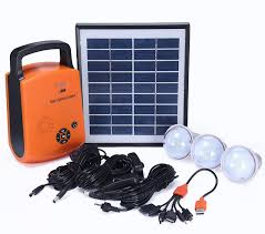 Solar Energy Lighting - china 4w portable solar pv panel power energy lighting kit china
