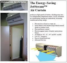 How Do Air Curtains Work Beautiful Air Curtain Door Contemporary Interior Design Ideas