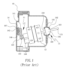 patent us20110064577 fan with concealed 360 degree oscillating