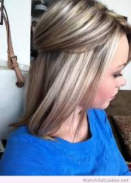 long blonde hair with dark low lights highlights and lowlights wish i could go this blonde hair and