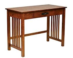 amazon com office star sierra solid wood writing desk with drawer