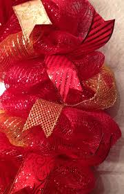 nfl san francisco 49ers wreath deco mesh 26