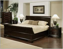 King Size Bed Frame With Headboard All Is Also A Kind Of Elegant - Elegant dark wood bedroom sets home