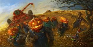 deviantart halloween wallpaper halloween harvest by sabin boykinov on deviantart