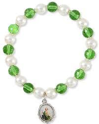 st jude bracelet san judas st jude silver tone medal bracelet