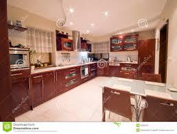 interieur cuisine moderne intérieur moderne de cuisine image stock image du investissez