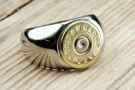 stainless steel mens rings bullet ring men s stainless steel brass bullet ring