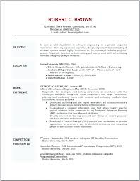 resume objective for career change u2013 inssite
