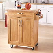 small kitchen cabinets walmart mainstays kitchen cart with drawer spice rack towel bar butcher block top walmart