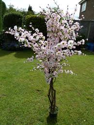 5 artificial tree large pink artificial blossom tree 1 7m