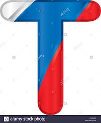Colors Of Russian Flag 3d Letter T Logo Stock Photos U0026 3d Letter T Logo Stock Images Alamy