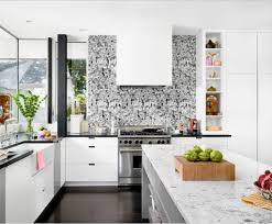 wall murals for kitchen home design ideas custom black and white kitchen back splash wall murals