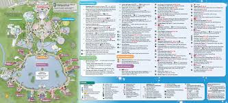 Map Of Wet N Wild Orlando by January 2016 Walt Disney World Park Maps Photo 12 Of 12