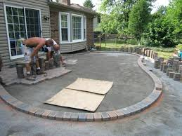 Concrete Patio Designs Layouts Ideas To Cover Concrete Patio Home Design Ideas And Pictures