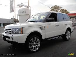 range rover truck conversion 2007 chawton white land rover range rover sport supercharged