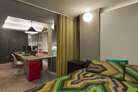 dividing a space with curtains interior design ideas lovely detail
