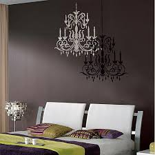 Wall Chandelier Chandelier Stencil Large Modern Stencils For Easy Wall Decor