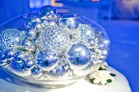 decor ornaments as centerpieces ornaments added glitz to the