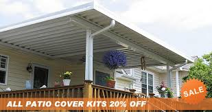 amazing of patio awning kits with home depot screened in porch