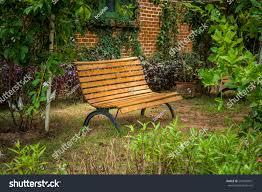 Chair In Garden Metal Garden Chair Garden Stock Photo 295249931 Shutterstock