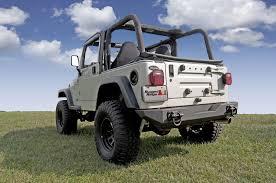 offroad jeep cj rugged ridge 11546 10 xhd rear bumper 76 06 jeep cj and wrangler