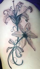 29 best tiger lily black tattoo images on pinterest flowers