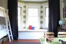 Bedroom Curtain Design Ideas Interesting Bedroom Bay Window Curtains Curtain Rod To Ideas