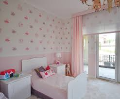Pink Wallpaper For Walls by Pink And Purple Toddler Room Project Nursery