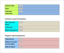 it progress report template progress report template 13 free documents in pdf word