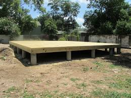 slab vs crawl space foundation exterior cool wooden deck with crawl space foundation repair cost