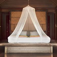 Boho Bed Canopy Premium Mosquito Net Canopy For Bed White Netting