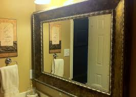 framed bathroom mirrors ideas christmas lights decoration inspiring framed bathroom mirrors ideas that can make your room look classy and stylish