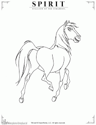 spirit the horse coloring pages getcoloringpages com