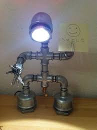 iron pipe robot desk lamp how to make a decorative light home