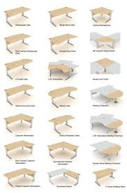 Desk Shapes Glamorous Office Desk Shapes Contemporary Best Ideas Interior