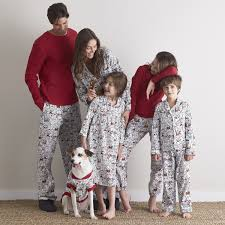 matching family pajamas merry mutts the company store